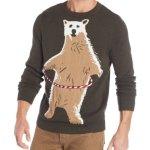 Polar Bear Hoopla Ugly Christmas Sweater