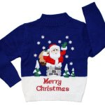 Santa Has Landed Christmas Sweater for Kids