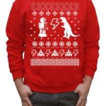 Geeky Ugly Sweater Pullover Sweatshirt