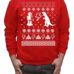 Geeky Ugly Sweater Pullover Sweatshirt