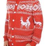 Reindeer Double Date Cardigan