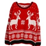 Retro Deer Sweater