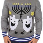Ugly Hanukkah Sweater for Men