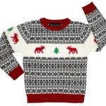 Holiday Reindeer Sweater – Children's Ugly Christmas Sweater
