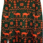 Ugly Christmas Holiday Sweater with Reindeer