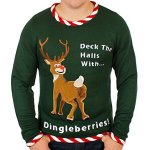 Rudolph Dingleberries Sweater