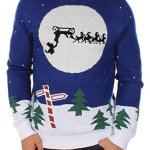 The Runaway Sleigh Sweater