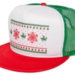 Humping Reindeer ugly Christmas Trucker Hat