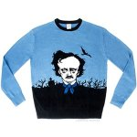 Edgar Allan Poe Ugly Christmas Sweater One Size