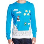 Alex Stevens Men's Video Game Elf Ugly Christmas Sweater