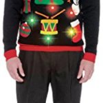 Ugly Light Up Christmas Sweater