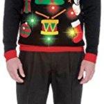 Ugly Light Up Christmas Sweater