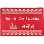 Santa Sleigh Ugly Christmas Sweater Placemat