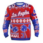 NBA Ugly Christmas Sweater with Player Name and Number - Pick Team