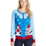 Women's Polar Bear Cardigan Christmas Sweater