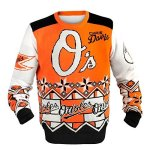 MLB Baseball Ugly Sweater with Player Name and Number - Pick a Team