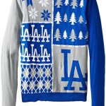 MLB Ugly Christmas Sweater - Busy Block - Pick a Team