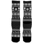Skull and Crossbones Ugly Christmas Socks
