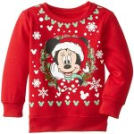 Girls Minnie Mouse Christmas Sweatshirt