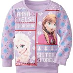 Disney Frozen Anna and Elsa Sisters Forever Christmas Sweater for Girls