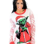 Yoda Santa Star Wars Christmas Sweater for Women