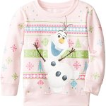 Olaf from Disney's Frozen Christmas Sweatshirt for Girls