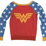 Wonder Woman Sweater with Big Eagle Logo