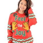 "Groping Hands ""Feel The Joy"" Ugly Christmas Sweater"