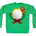Mirror Ugliest Sweater Award Ugly Christmas Sweater