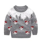 Tacky Snowman Christmas Sweater for Kids
