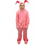 A Christmas Story Bunny Suit Pajamas Costume - Sizes for Kids to Adults