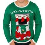 Humping Reindeer Games Sweater Vest Ugly Sweaters Com