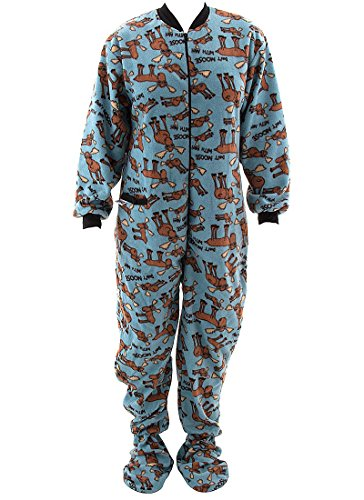 Don T Moose With Me Footed Onesies Pajamas For Adults