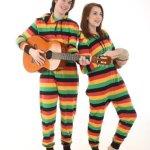 Reggae Adult Onesie Pajamas