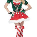 Santa's Sexy Helper Costume Dress