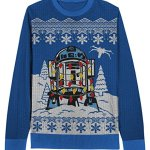 Star Wars Christmas Decorated R2D2 Sweater for Kids