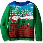 Santa Video Game Christmas Sweater