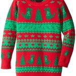Dinosaur Fair Isle Ugly Christmas Sweater