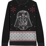 Star Wars Darth Vader Black Ugly Christmas Sweater