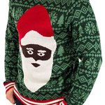 Black Santa Clause Christmas Sweater