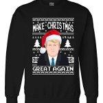 Donald Trump Ugly Christmas Sweater – Make Christmas Great Again Sweatshirt