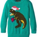 Ugly Christmas Sweater Santasaurus Rex