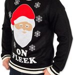 Santa ON FLEEK Christmas Sweater