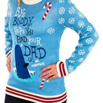 Elf Holiday Narwhal Ugly Christmas Sweater