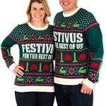 Festivus for the Rest of Us Ugly Christmas Sweater