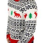 Holiday Reindeer Men's Sweater