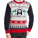 The Ugly Christmas Sweater Jesus B-Day Sweater