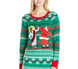 Santa and Jesus Bff's Ugly Christmas Sweater Tunic