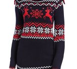 3D Knit Reindeer Christmas Jumper