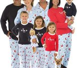 Family Matching Winter Snowman Pajamas PJs Sets for the Family